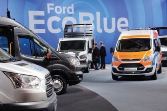 Ford stand, IAA 2016 Hannover, Germany, 21th.Sept.2016