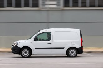 Mercedes-Benz Citan Greek Test 9