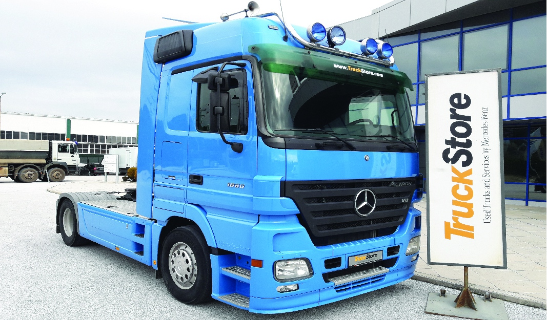 mb actros used