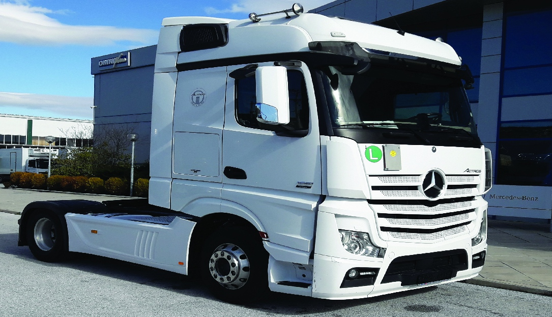 new mb actros used truckstore
