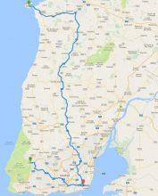 Route Lisbon - Sintra - Peniche