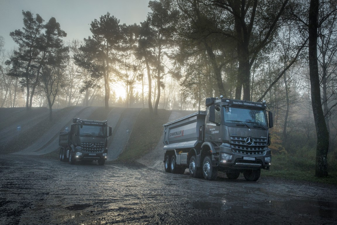 Mercedes-Benz Arocs Performance Days, November 2017