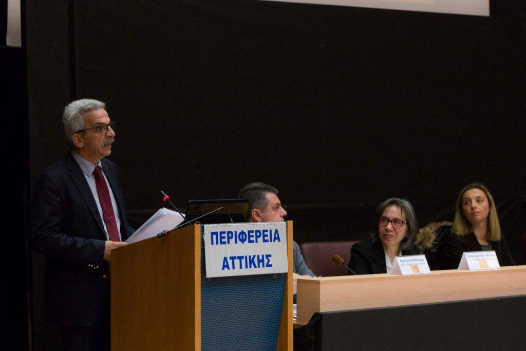 Ο κ. Δημήτριος Αναγνωστάκης Γενικός Γραμματέας Δημόσιας Τάξης του Υπουργείου Προστασίας του Πολίτη