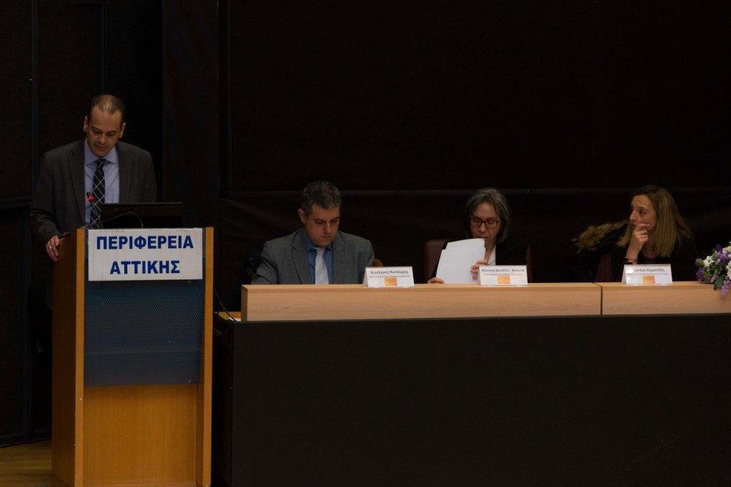 Ο κ. Θάνος  Βούρδας, Γενικός Γραμματέας Υπουργείου Υποδομών και Μεταφορών