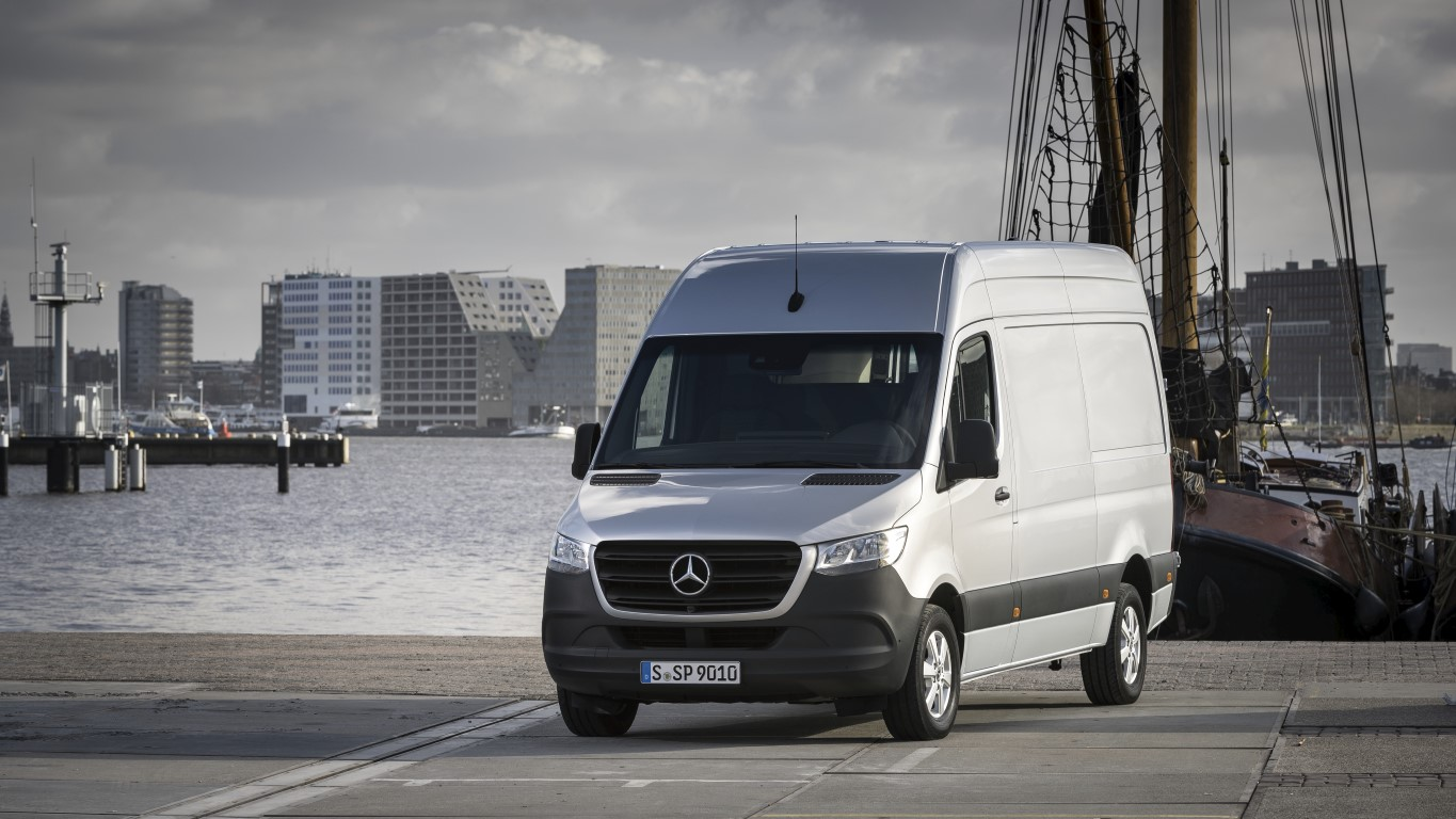 Pressefahrvorstellung Mercedes-Benz Sprinter, Amsterdam 2018 // Press test drive Mercedes-Benz Sprinter, Amsterdam 2018