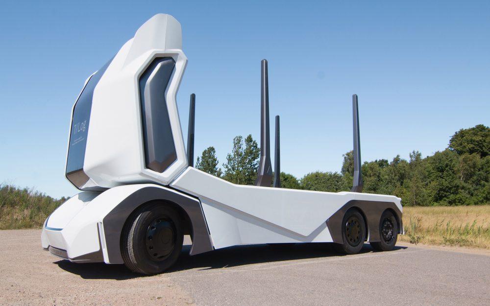 Αυτόνομο και ηλεκτρικό όχημα μεταφοράς ξυλείας απο την Einride - YouTruck.gr