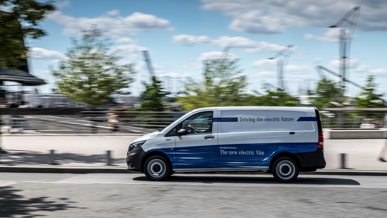 eDrive@VANs next level: Lokal emissionsfreie Mobilität im Praxischeck: eVito und eSprinter fit für den urbanen Einsatz