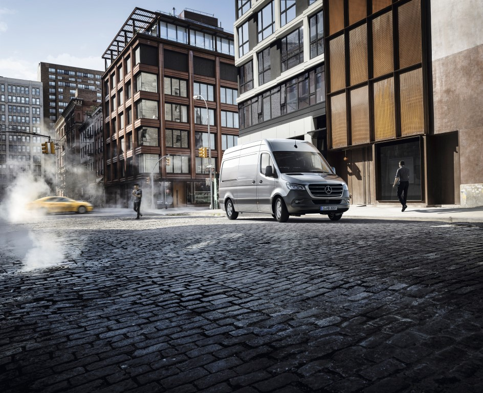 2018, The new Sprinter, Launch Campaign, Fascinating Product Concept