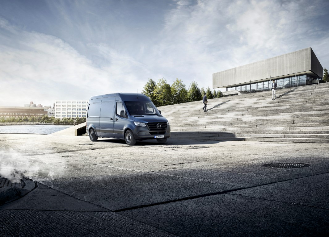 2018, The new Sprinter, Launch Campaign, Sustainable Cost Effectiveness