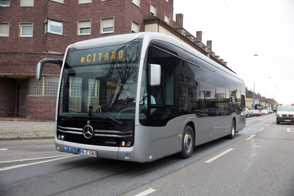 Driving Experience Mercedes-Benz Buses December 2018