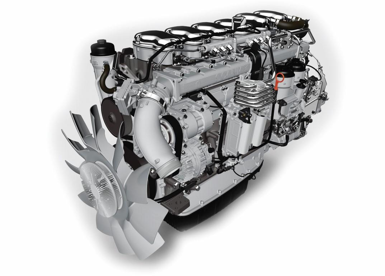 Scania 13 litre enginePhoto: Scania 2017