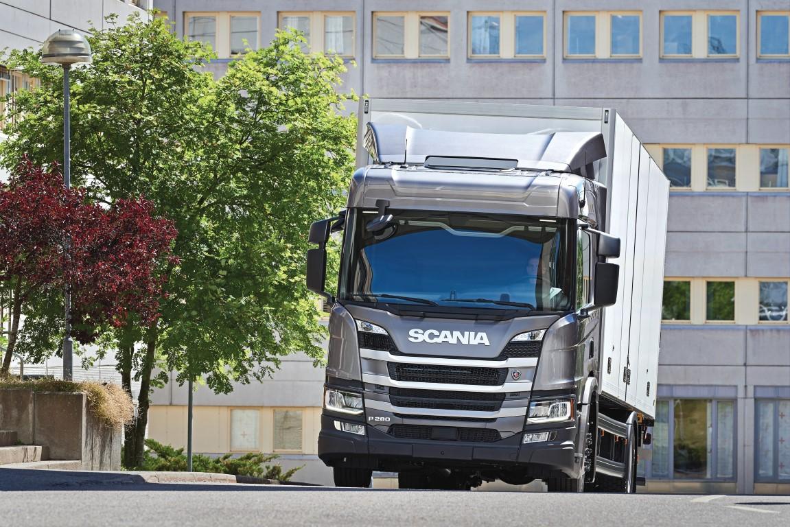 Scania P 280 4x2 with box body 17176-007