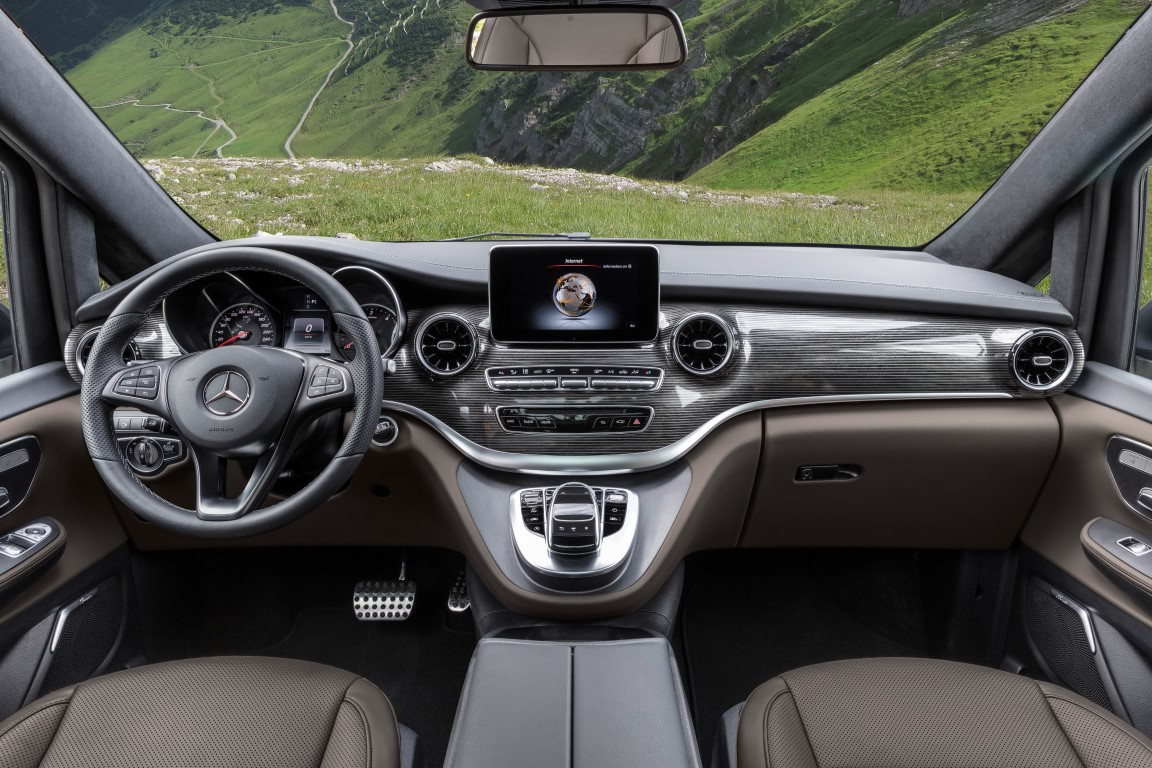 Die neue Mercedes-Benz V-KlasseThe new Mercedes-Benz V-Class