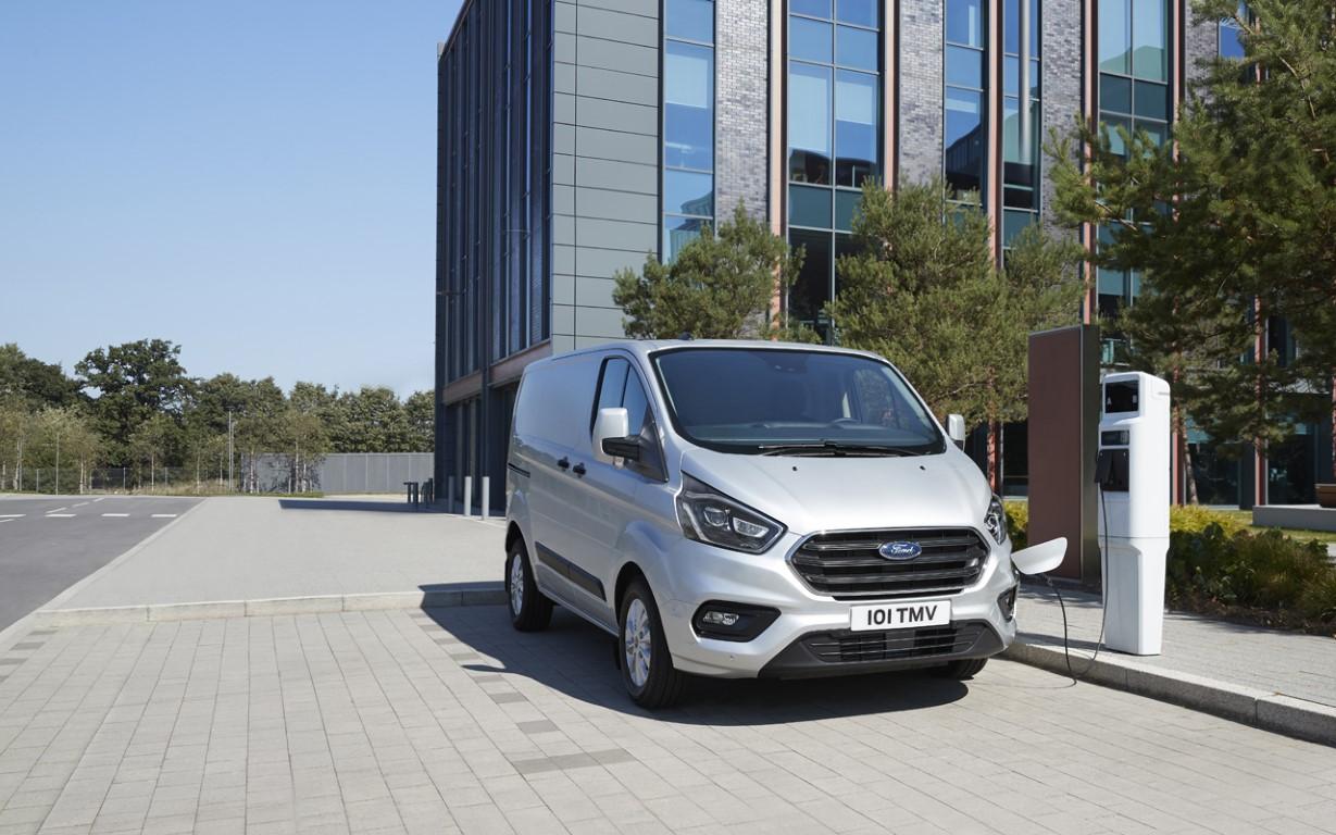 Ford Transit Custom PHEV 2018