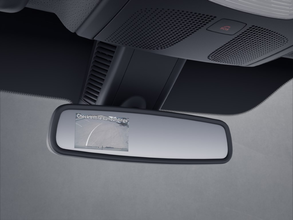 Mercedes-Benz Sprinter – Interior mirror display Mercedes-Benz Sprinter – Interior mirror display