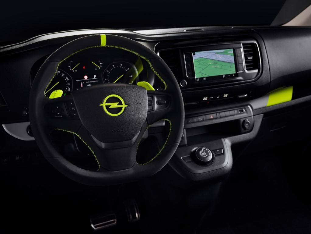 "Showcar Opel Zafira Life ""O-Team"", 2019"