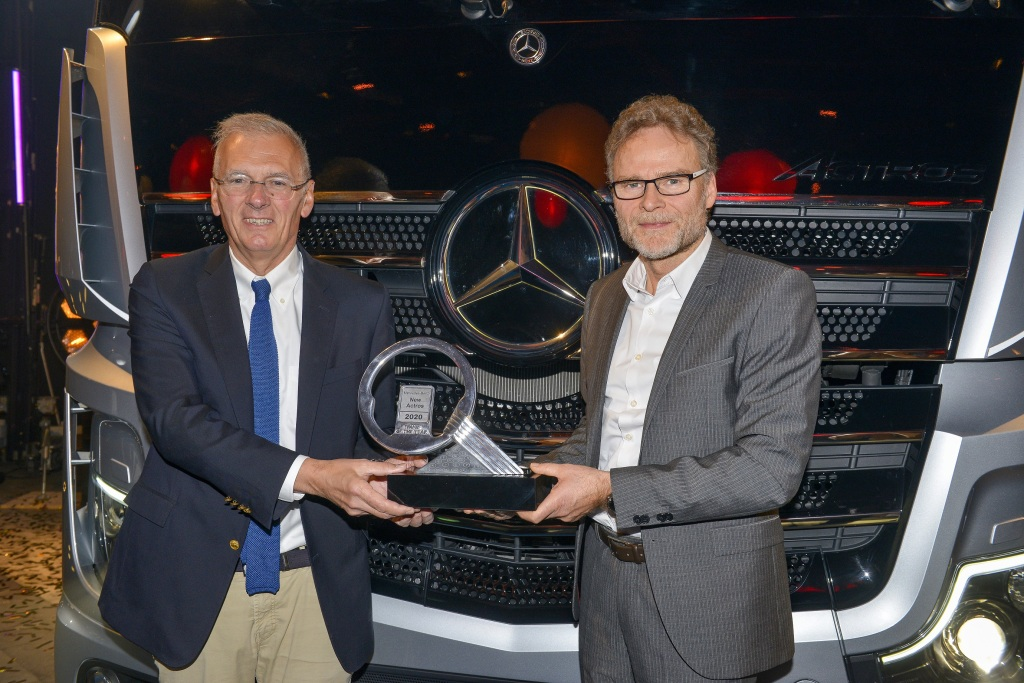Der neue Actros – Truck of the Year 2020 The new Actros – Truck of the Year 2020