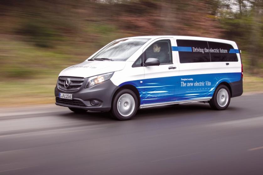 Elektrische Transporter von Mercedes-Benz Vans: eVito macht den Auftakt 2018; ganzheitliche eDrive@VANs Strategie zur Elektrifizierung gewerblicher Flotten Electric vans from Mercedes-Benz Vans: eVito launches in 2018; holistic eDrive@VANs strategy for the electrification of commercial fleets