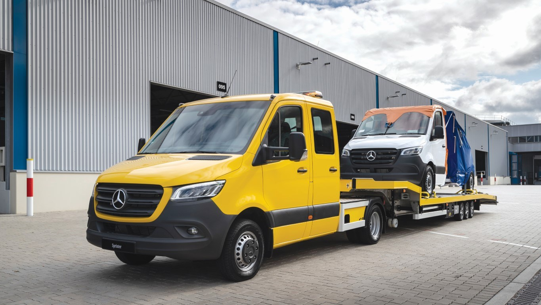Mercedes-Benz Sprinter – Sattelzugmaschine, FGS, Exterieur Mercedes-Benz Sprinter – Tractor unit, FGS, Exterior
