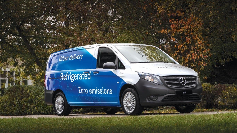 Mercedes-Benz eVito – Branche Handel und eGrocery (Projekt Polarfuchs), Kerstner, Exterieur Mercedes-Benz Sprinter – Branch Trade and eGrocery (Project Polarfuchs), Kerstner, Exterior