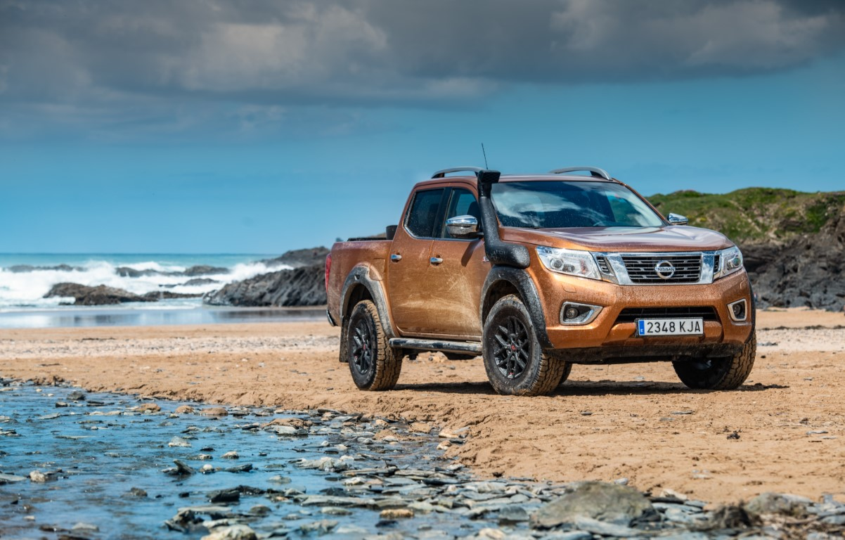 Nissan volunteers its toughest pickup to help tackle plastic pollution on Europe's most remote beaches