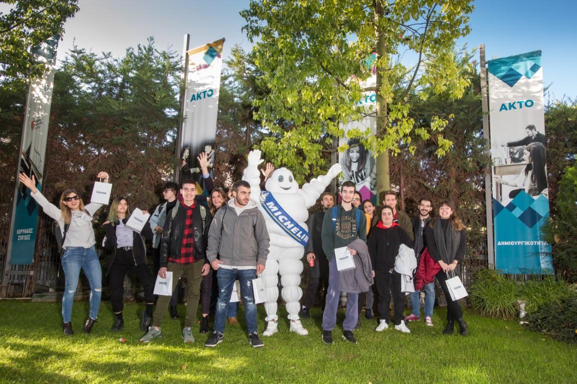 Michelin και σπουδαστές ΑΚΤΟ για την Οδική Ασφάλεια (Medium)