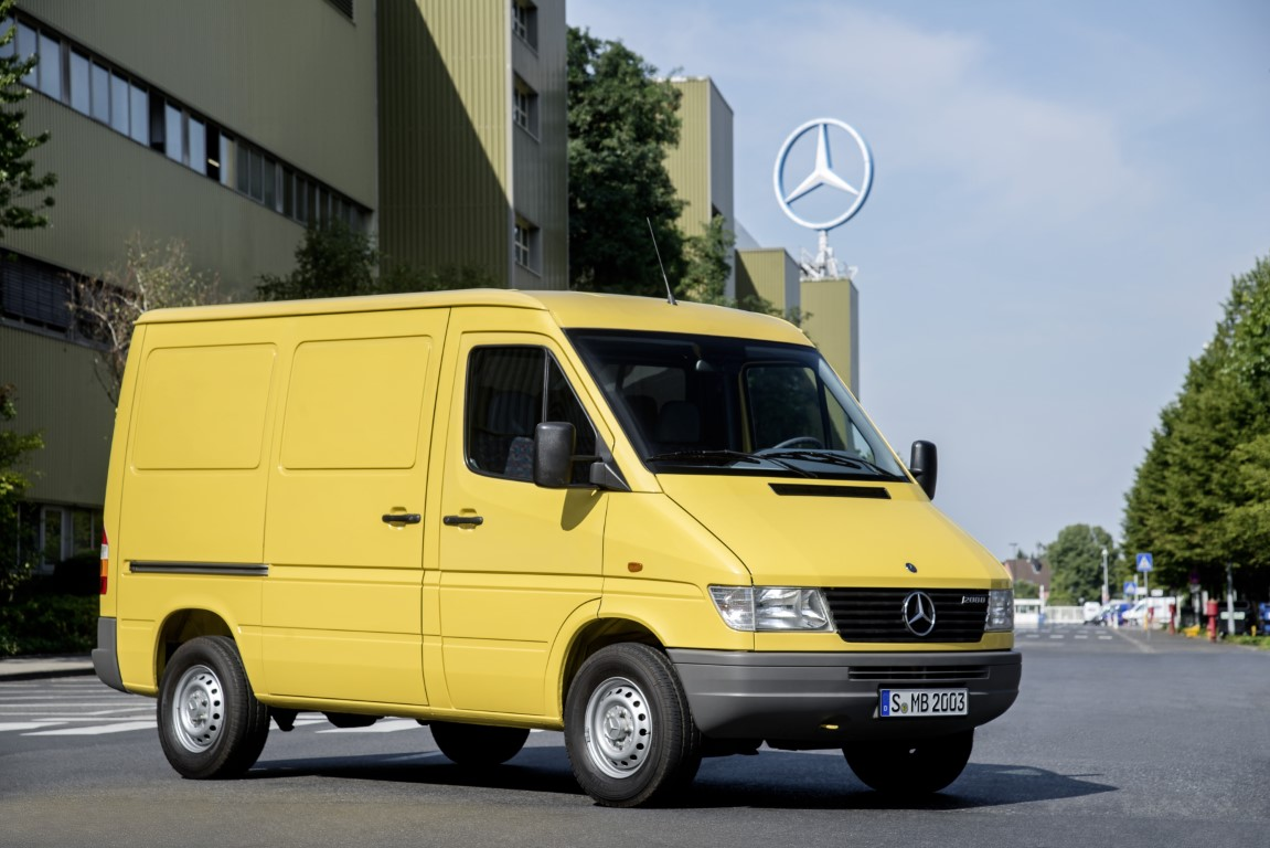 25 Jahre Innovation: der Mercedes-Benz Sprinter feiert Geburtstag25 years of Innovation: the Mercedes-Benz Sprinter celebrates its birthday