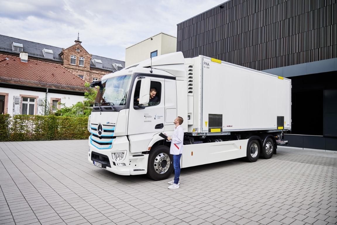 Η μεταφορά στην πρίζα : Ηλεκτροκίνητα φορτηγά