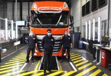 DAF : Το πρώτο φορτηγό βγαίνει και πάλι από τη γραμμή παραγωγής