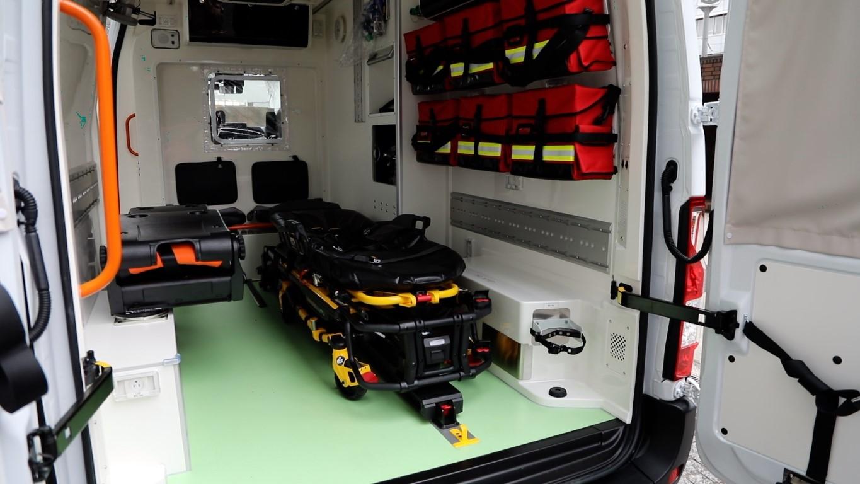 Nissan EV Ambulance Interior (Medium)
