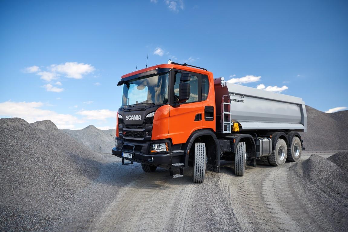 Scania G 450 XT 8x4 tipper