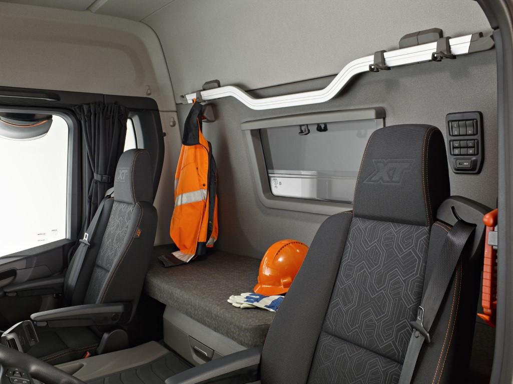Interior of a Scania G-series XT Södertälje, Sweden Photo: Göran Wink 2017