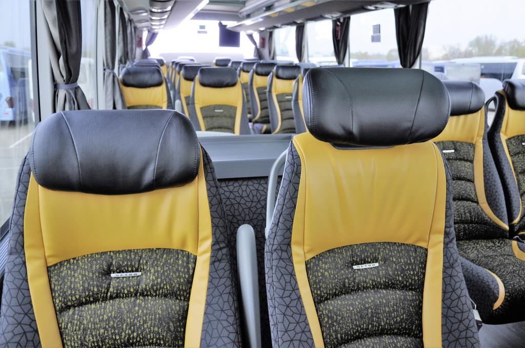 10 Jahre Setra Voyage Omnibussitze Celebrating 10 years of Setra Voyage coach seats