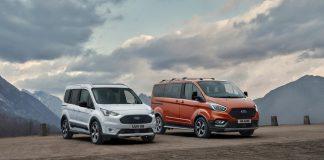 Ford : Νέες εκδόσεις Active για Tourneo Connect και Transit Connect