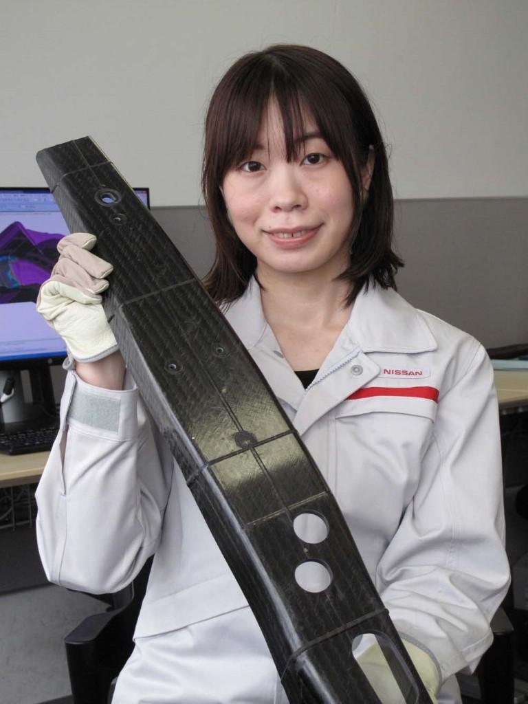 Nissan Σημαντική ανακάλυψη στην παραγωγή ανταλλακτικών από ανθρακονήματα (1)