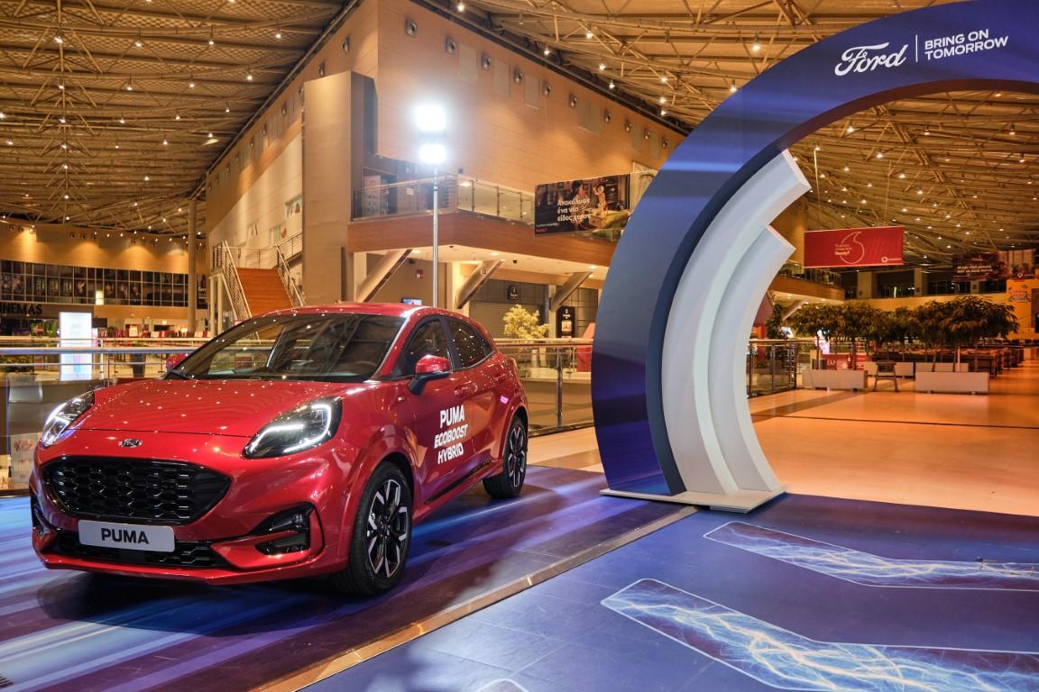O νέος εκθεσιακός χώρος της Ford στο The Mall Athens (4)