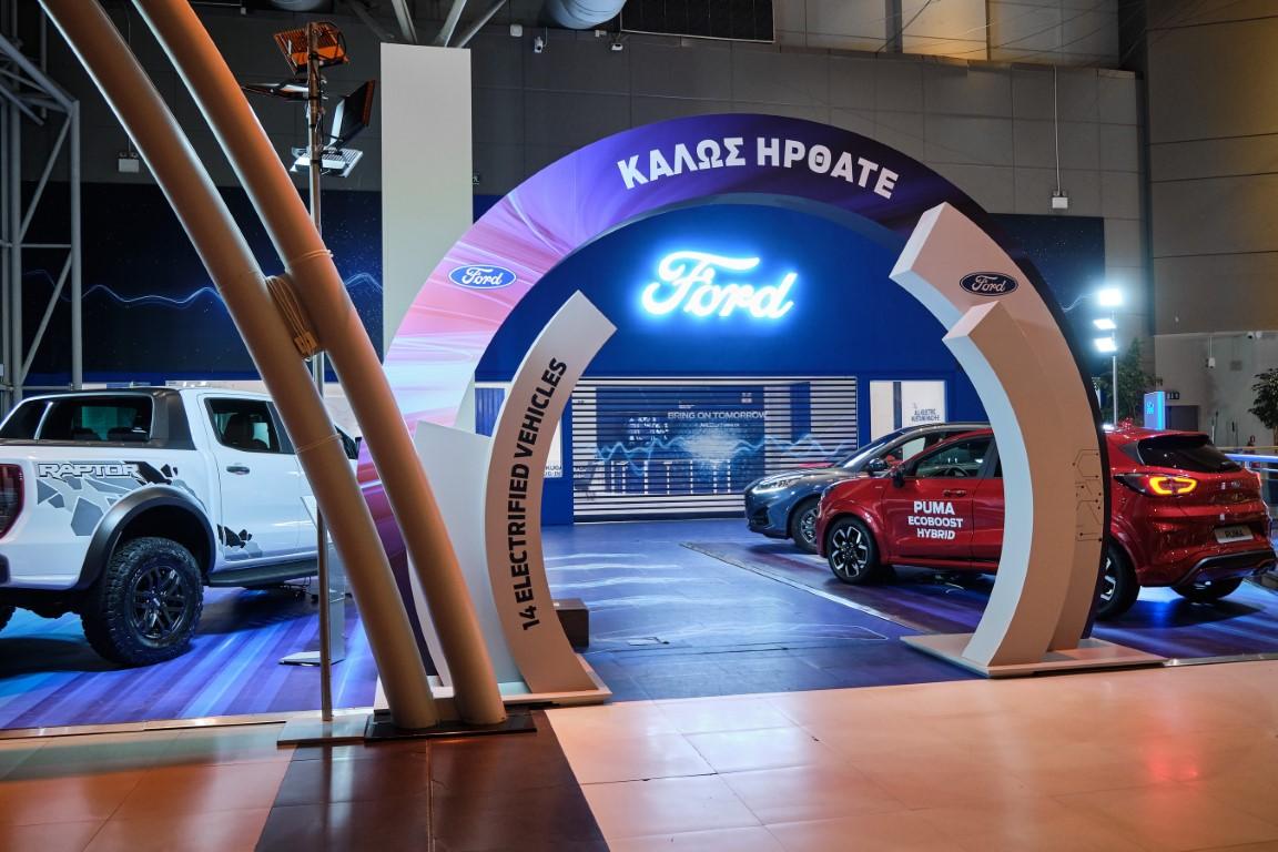 O νέος εκθεσιακός χώρος της Ford στο The Mall Athens (7)