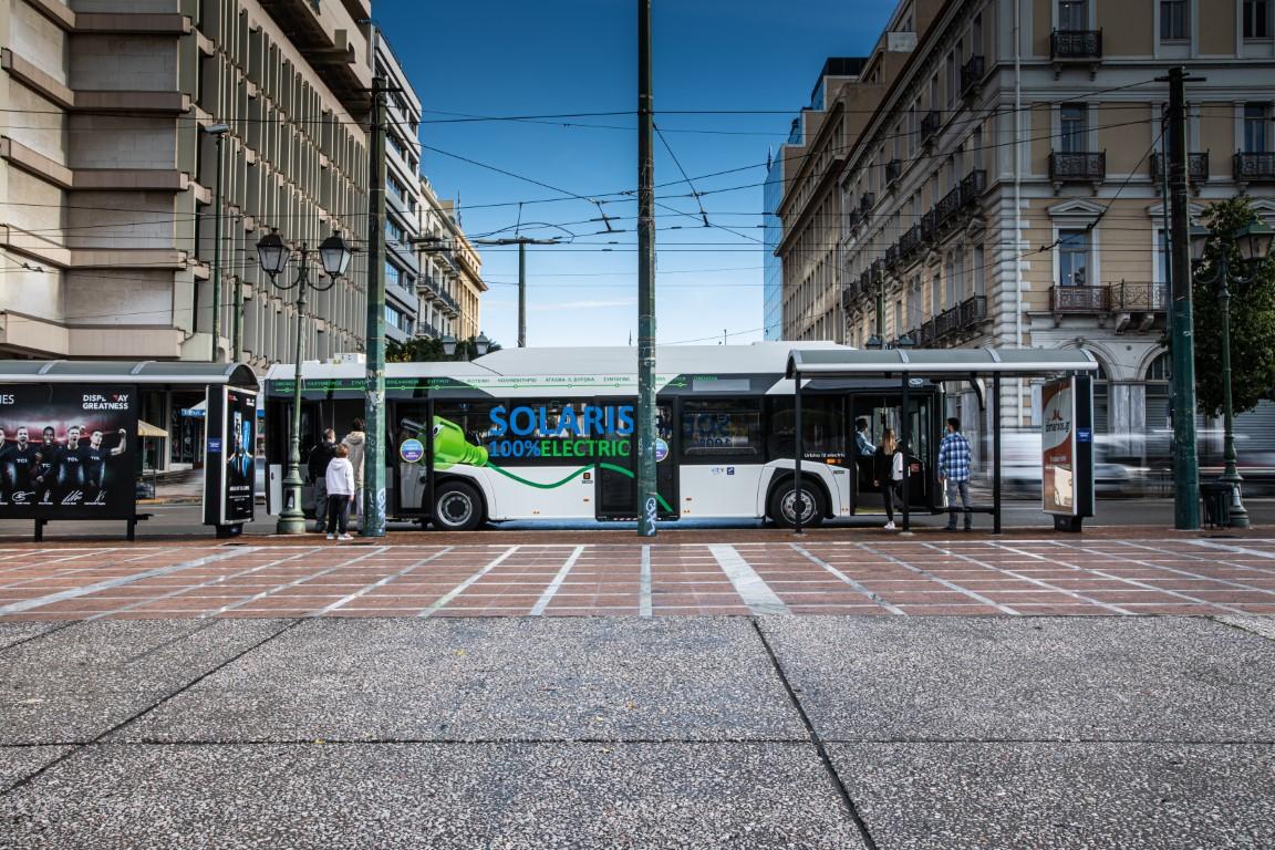 Το Solaris Urbino 12 Electric στην Ελλάδα (2)
