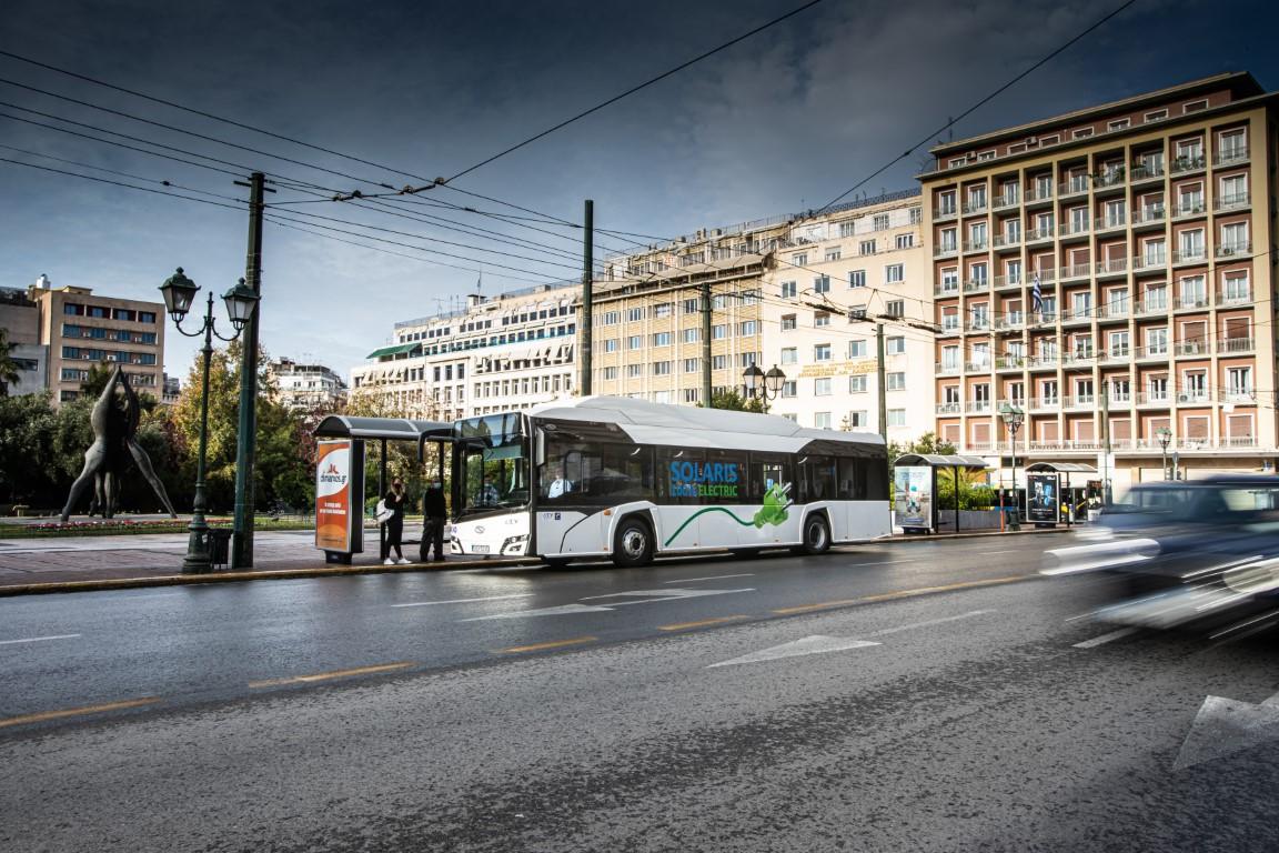 Το Solaris Urbino 12 Electric στην Ελλάδα (4)