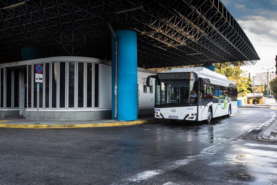 Το Solaris Urbino 12 Electric στην Ελλάδα (6)