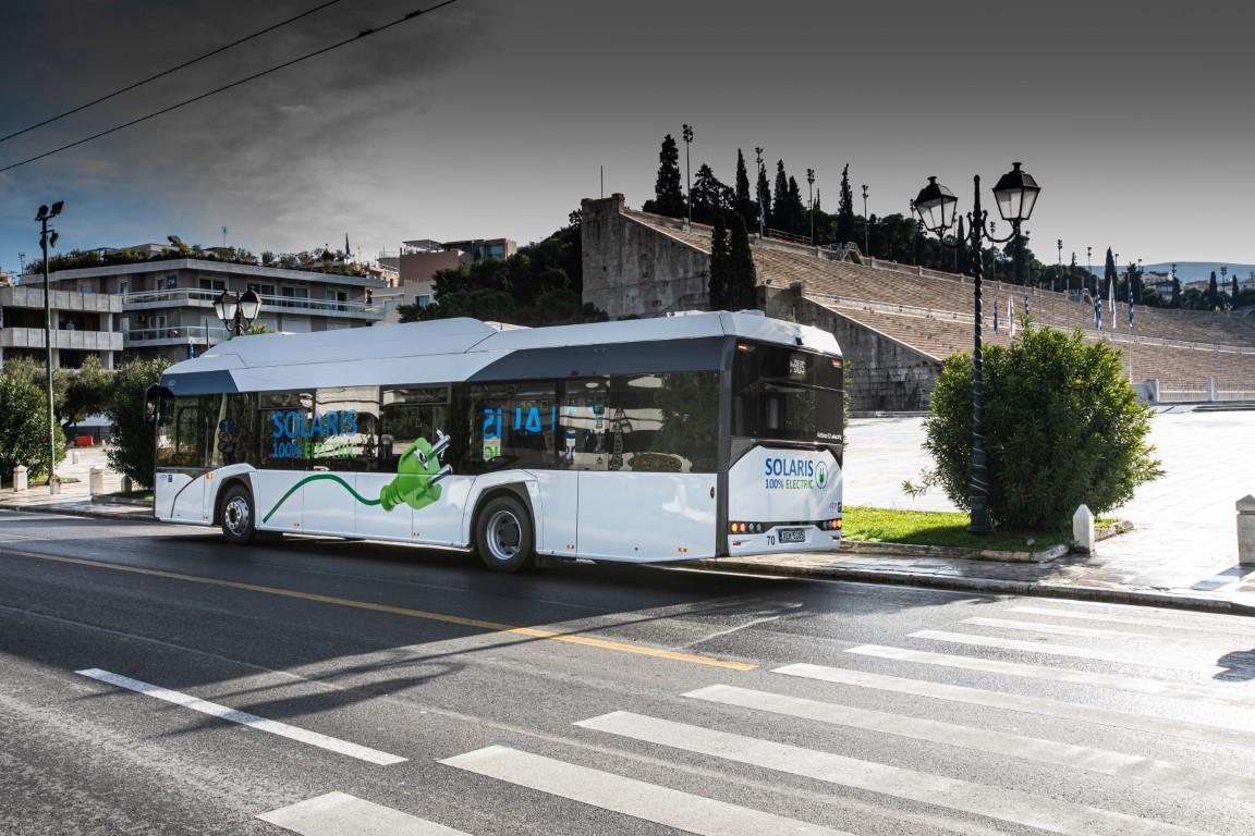 Το Solaris Urbino 12 Electric στην Ελλάδα (8)