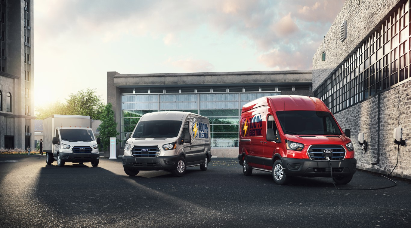 All-Electric Ford E-Transit