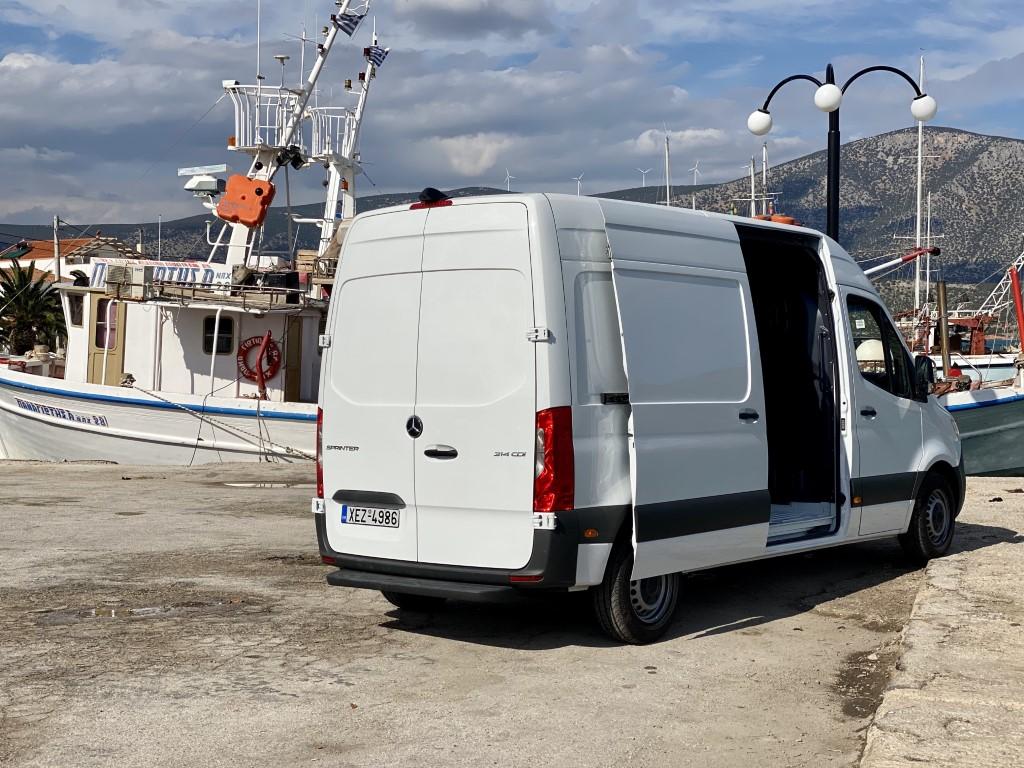 Νέο Sprinter Van PRO 4
