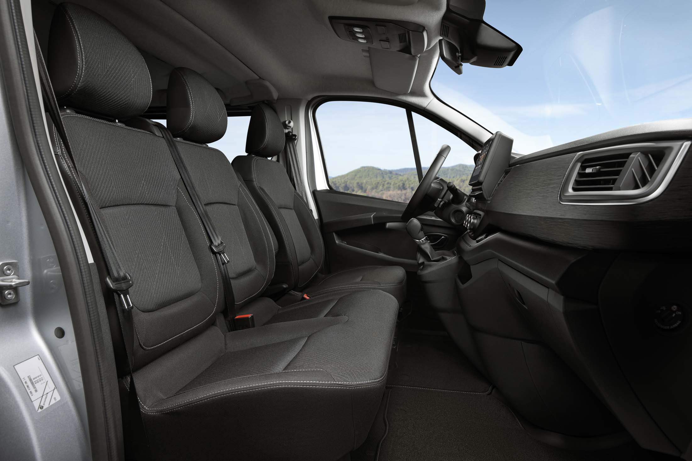 New NV300 Combi Interior Front Cabin 1