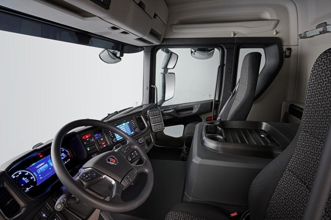 Scania L-series, cab interior