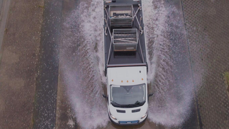 Ford E-Transit testing