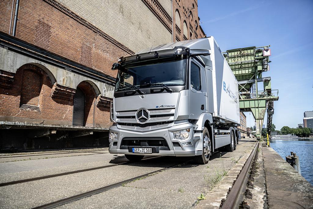 Mercedes-Benz eActros Weltpremiere 2021Mercedes-Benz eActros world premiere 2021